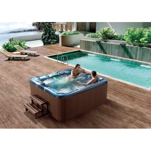 Spa jacuzzi hidromasaje de exterior as 006 for Jacuzzi exterior medidas