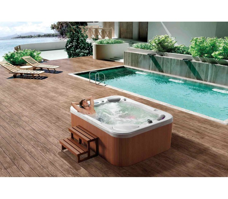 spa jacuzzi exterieur latest achat vente de spa jacuzzi hotspring design exterieur spa. Black Bedroom Furniture Sets. Home Design Ideas