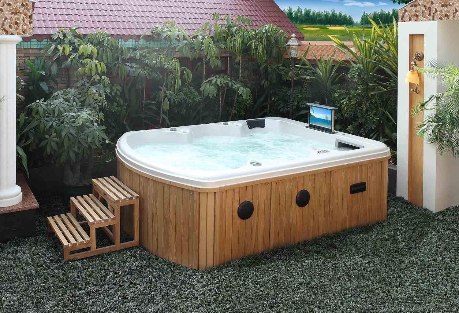 Jacuzzi para exterior affordable cheap trendy free for Comprar jacuzzi exterior barato