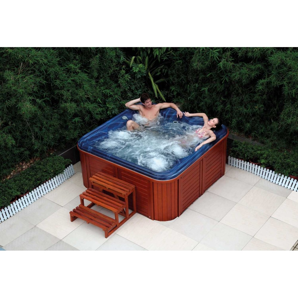 Spa jacuzzi exterior as 001 web del hidromasaje for Jacuzzi exterior medidas