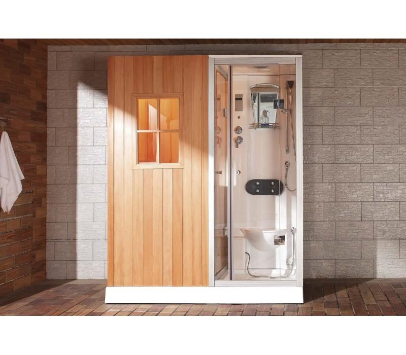 H brido cabina sauna as 002 for Cabina sauna