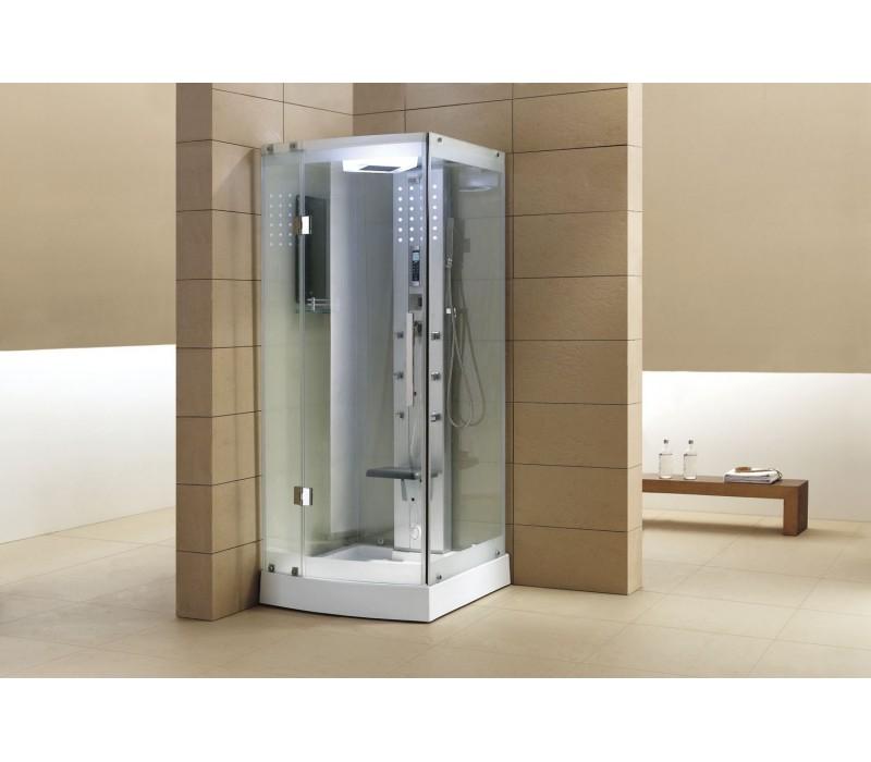 Cabina hidromasaje con sauna as 002a 1 - Cabina ducha sauna ...