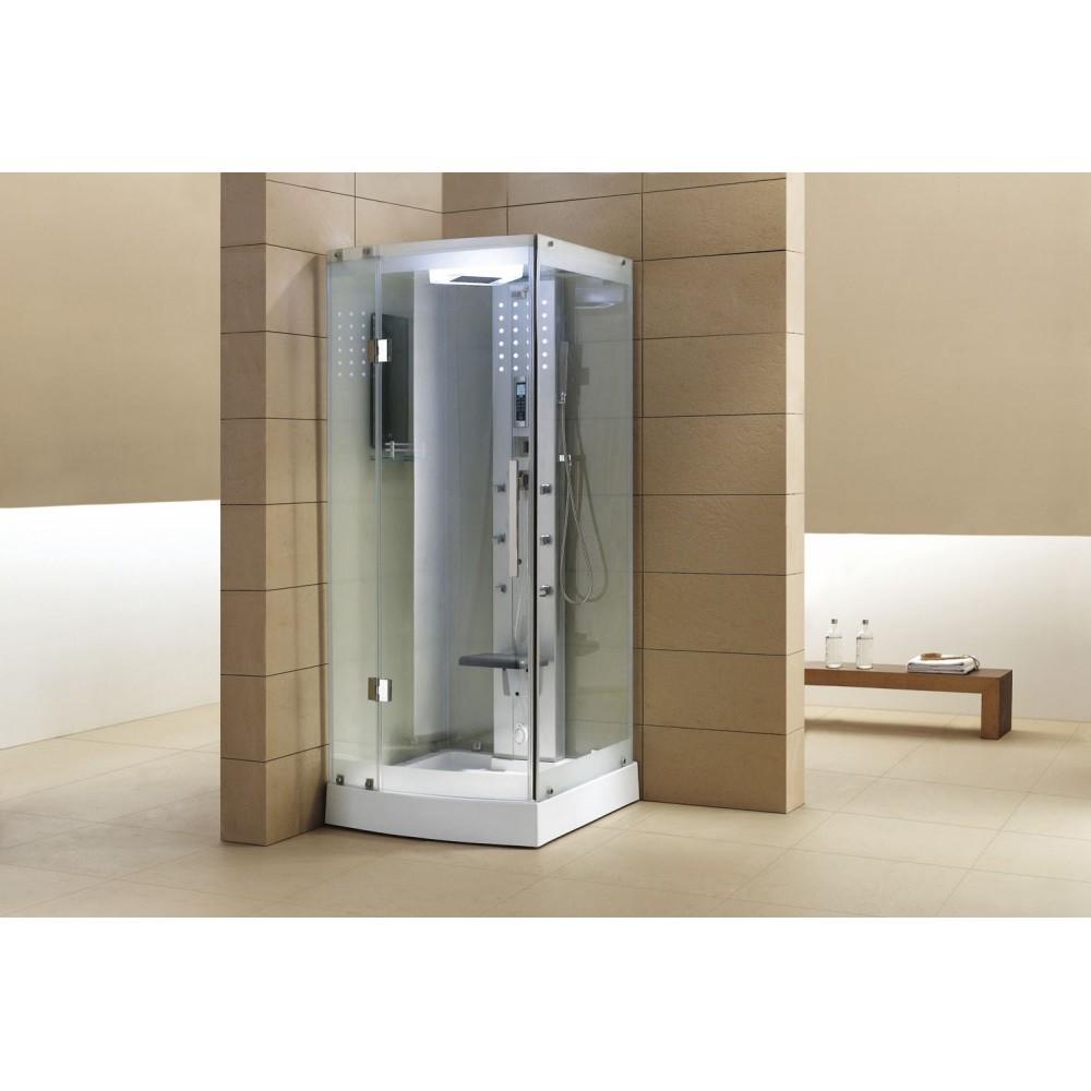 Cabina de hidromasaje sauna as 002a web del hidromasaje - Duchas cabinas ...