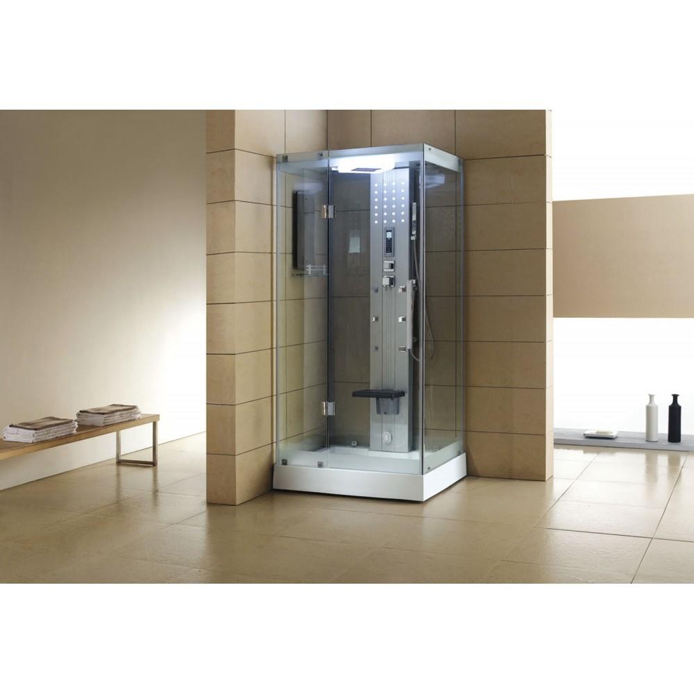 Cabina de hidromasaje sauna as 005a web del hidromasaje for Cabina sauna