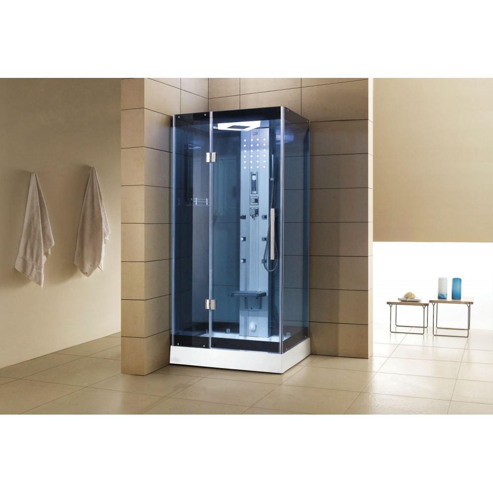 Cabina de hidromasaje sauna as 005b web del hidromasaje for Cabina sauna