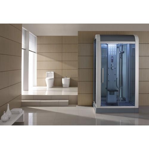 Cabina de hidromasaje sauna as 010b web del hidromasaje for Cabina sauna