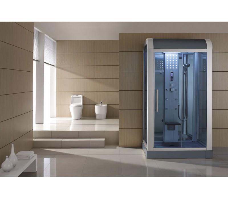 Cabina hidromasaje con sauna as 010b for Cabina sauna