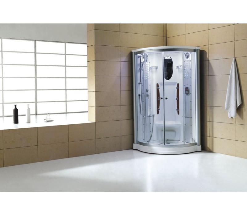 Cabina hidromasaje con sauna as 011 for Cabina sauna