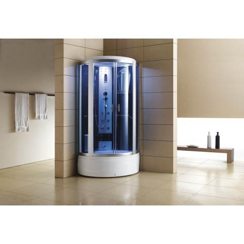 Compra venta de cabinas de hidromasaje con funci n sauna - Cabina ducha sauna ...