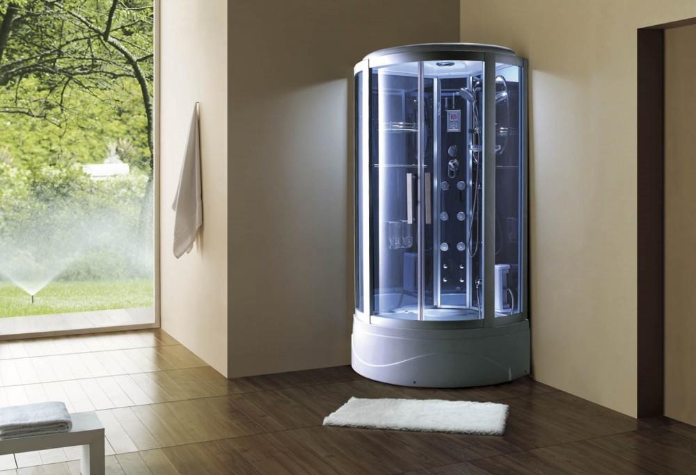 Cabina hidromasaje y ba era con sauna at 003 - Cabinas de duchas de bano ...