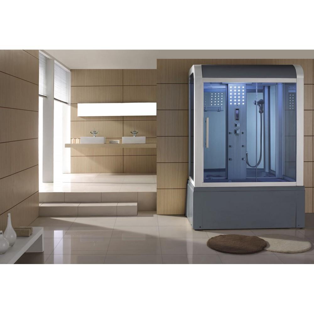 Cabina ba era de hidromasaje sauna at 009 web del for Cabina sauna