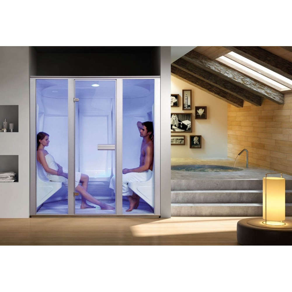 Baño Turco Para Casa:Wet Steam Sauna