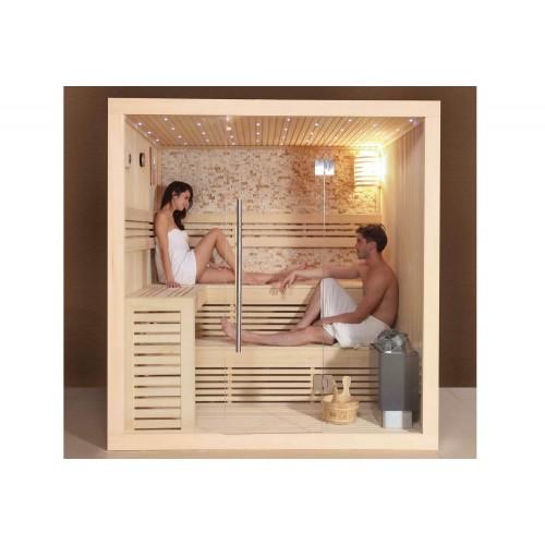 Sauna seca sauna h meda con ducha at 001a - Sauna premium madrid opiniones ...