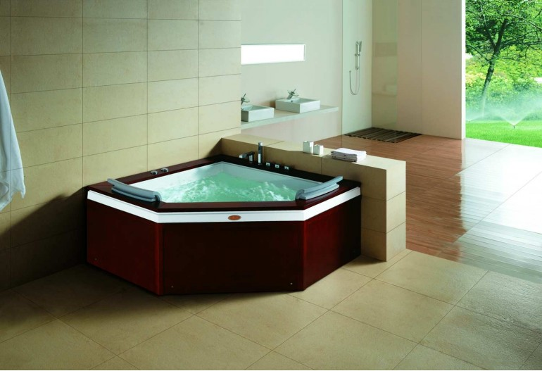 baignoire baln o jacuzzi at 011 1. Black Bedroom Furniture Sets. Home Design Ideas