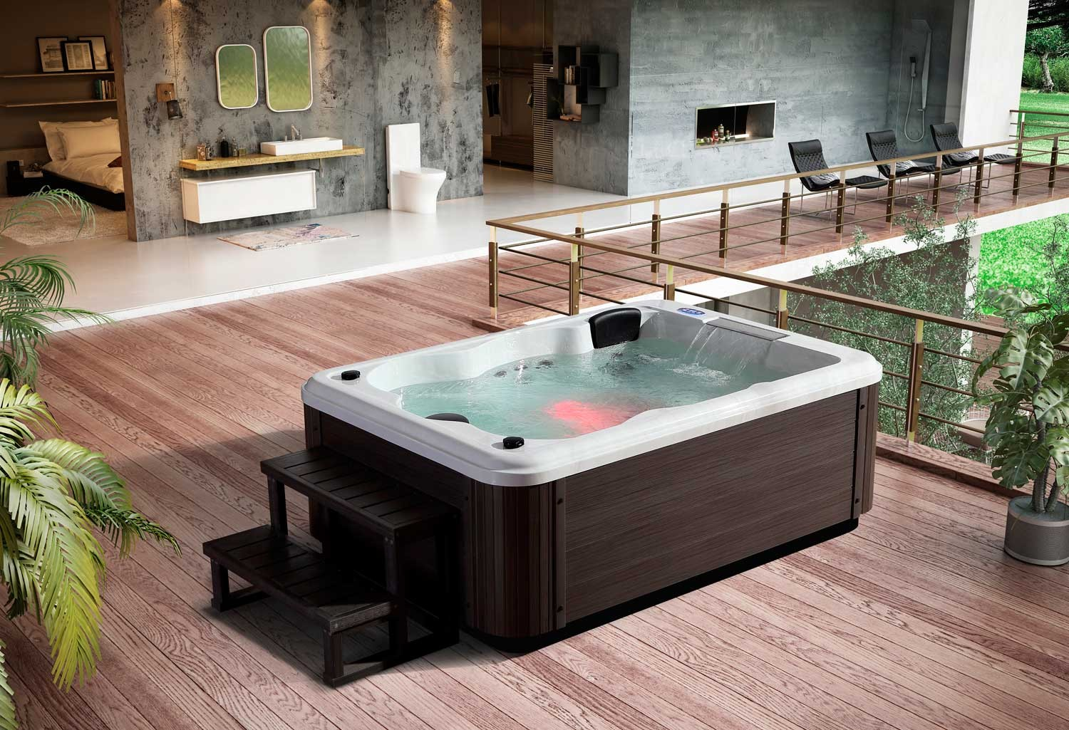 prix jacuzzi extrieur latest gallery of prix jacuzzi exterieur places beau jacuzzi extrieur. Black Bedroom Furniture Sets. Home Design Ideas