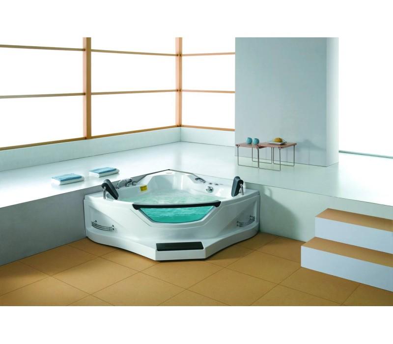 baignoire spa jacuzzi maison design. Black Bedroom Furniture Sets. Home Design Ideas