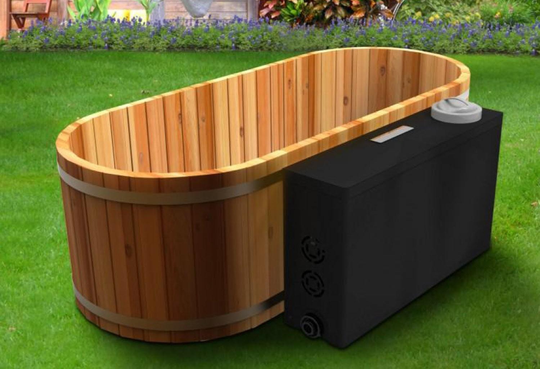 stunning baignoire japonaise bois photos antoniogarcia. Black Bedroom Furniture Sets. Home Design Ideas