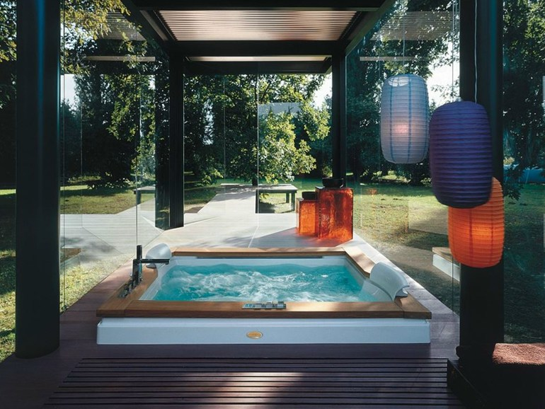 Beneficios de los spa y jacuzzi exterior blog del for Construir jacuzzi exterior