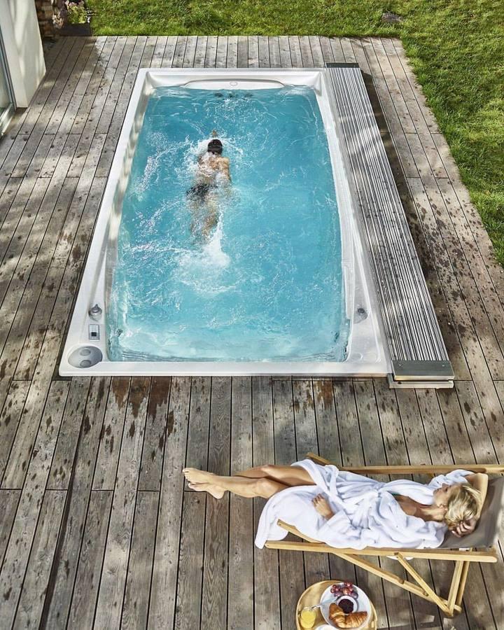 Blog del hidromasaje piscina contracorriente el for Piscina de acrilico