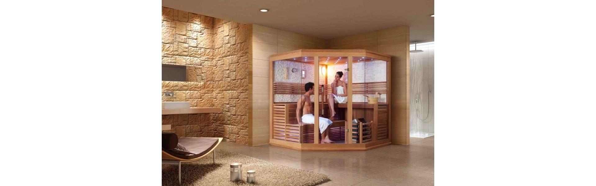 Cabinas De Ducha Ofertas:Híbridos de cabinas de hidromasaje sauna Mitad ducha, mitad sauna