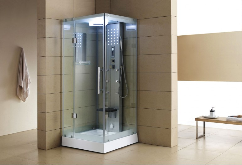 Cabina hidromasaje con sauna as 004a 1 - Productos para sauna ...