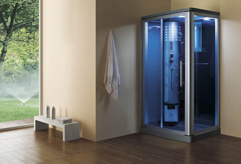 cabinas de ducha con sauna