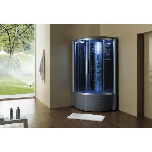 Cabina hidromasaje y bañera con sauna AT-013