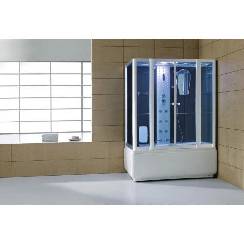 Cabina hidromasaje y bañera con sauna AT-008A
