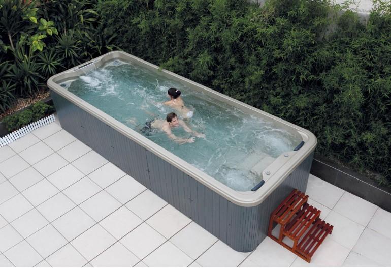 Piscina de hidromasaje swim spa AT-005