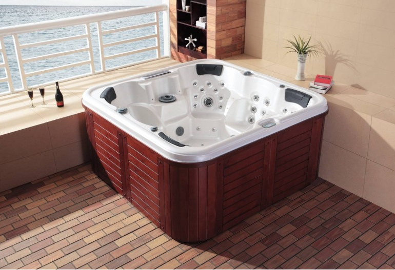 Spa jacuzzi exterior AT-003