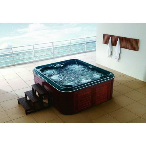 Spa jacuzzi hidromasaje de exterior as 0031a for Jacuzzi exterior enterrado