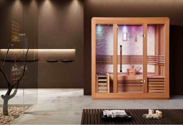 Sauna seca premium AX-017
