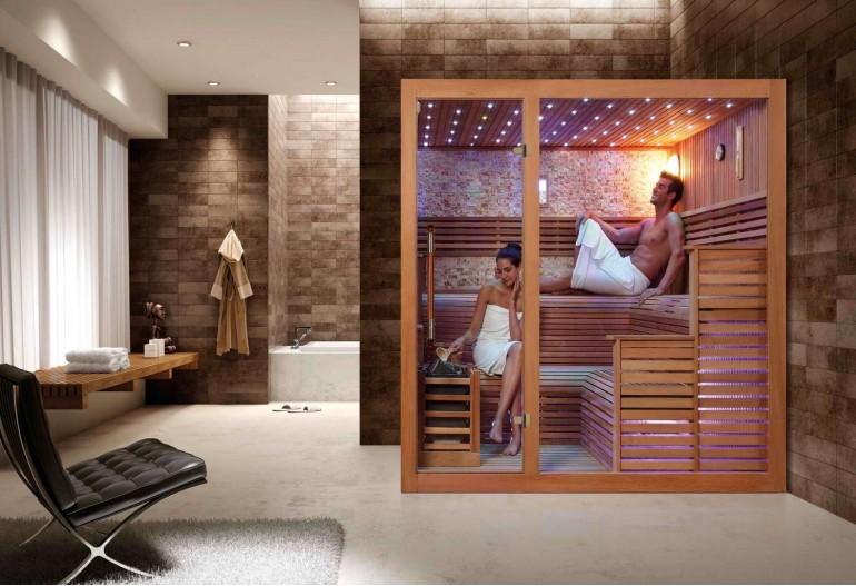 Sauna seca premium AX-018