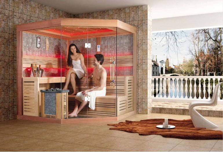 Sauna seca premium AX-023