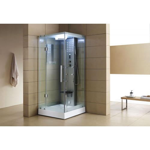 Cabina hidromasaje con sauna AS-004A-2