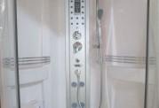 Cabina hidromasaje y bañera con sauna AT-001
