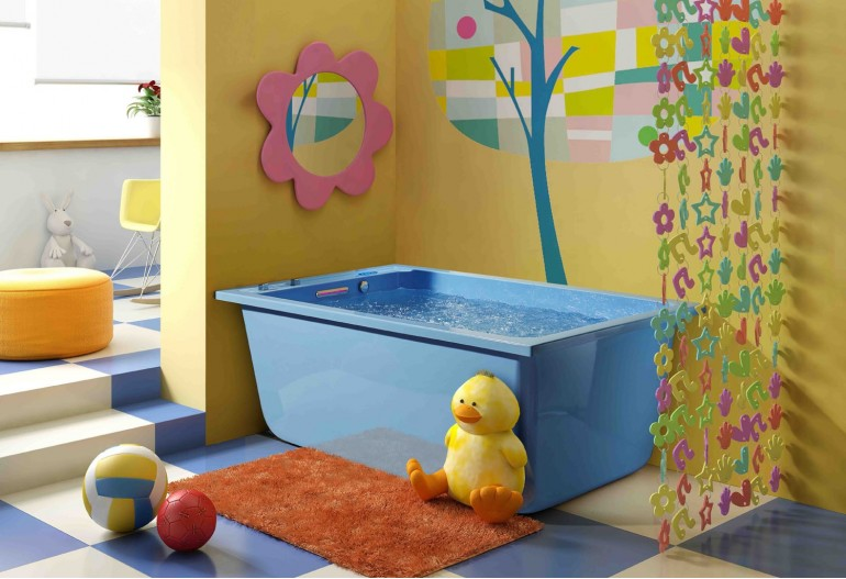 Bañera hidromasaje para bebé AJ-002
