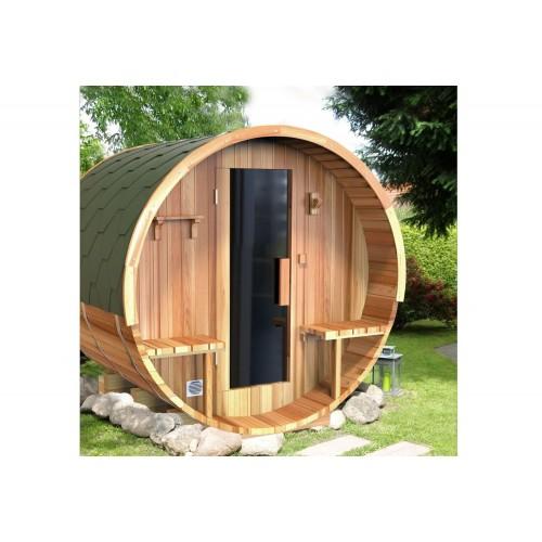 Sauna seca con forma de barril AF-002B