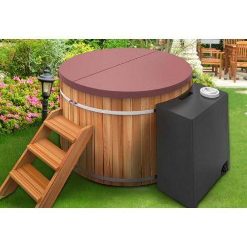 Ofuro japonés / Tina de madera exterior AT-002B