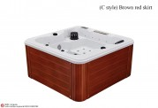 Spa jacuzzi exterior AS-012