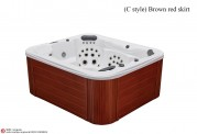 Spa jacuzzi exterior AT-009