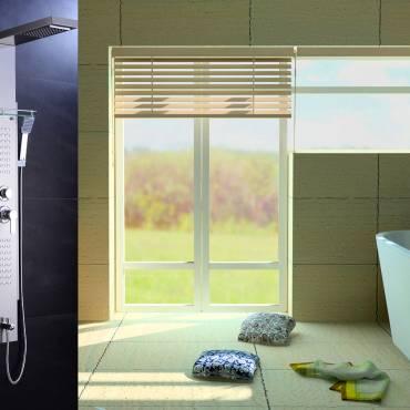 Una columna de ducha para cada tipo de baño