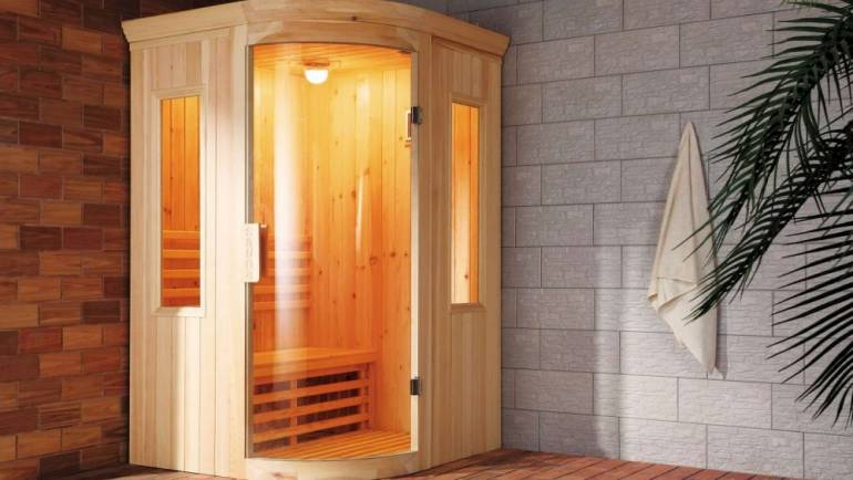 Sauna infrarroja y sauna de vapor, diferencias