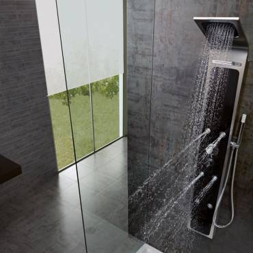 Columna de ducha: relajación y bienestar