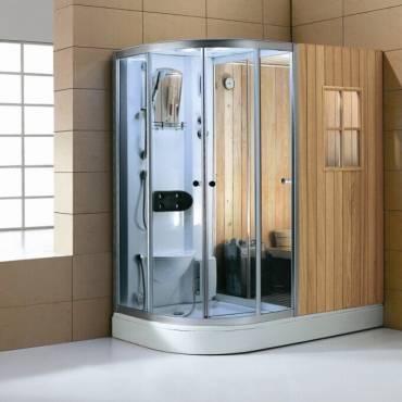 Cabina de hidromasaje, terapia profesional en casa