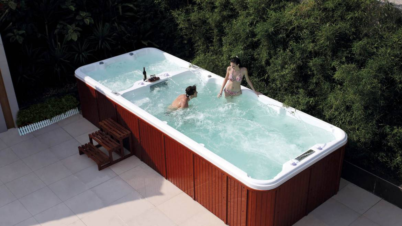 Spa de nado, el sustituto perfecto de una piscina tradicional