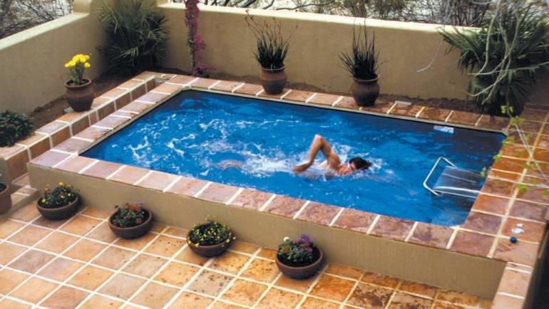 ¿Por qué comprar una piscina con nado contracorriente?