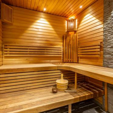 Sauna de madera, más que relajación garantizada