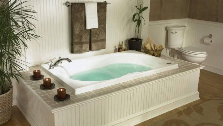 Bañera hidro: ¿con chorros de aire o de agua?
