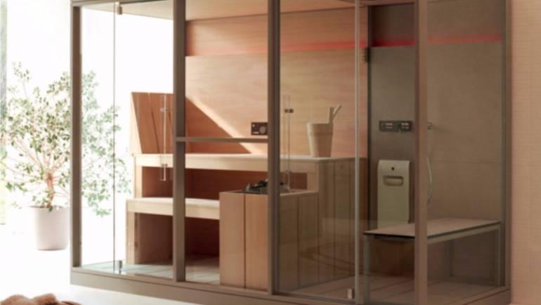 Sauna de vapor: seis increíbles características